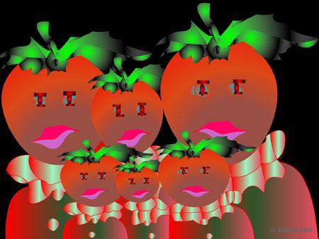 famille tomates